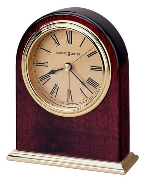 Alarm clock with Roman numerals