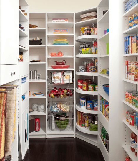 21 Different Types Of Kitchen Pantries
