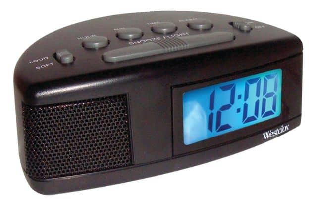 Extra loud alarm clock