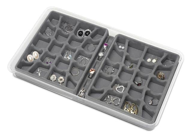 Jewelry storage tray