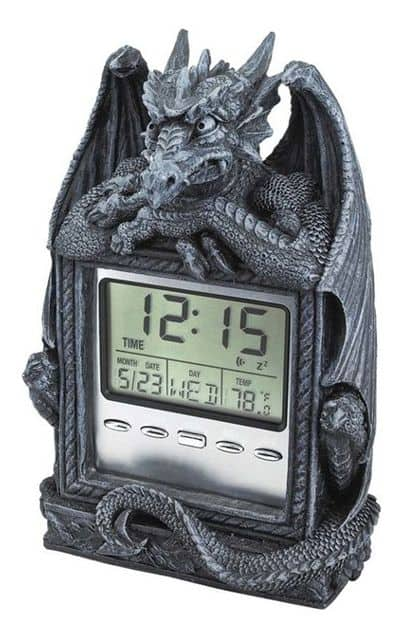 Novelty alarm clock