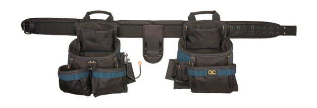 Tool belts with reinforced pockets