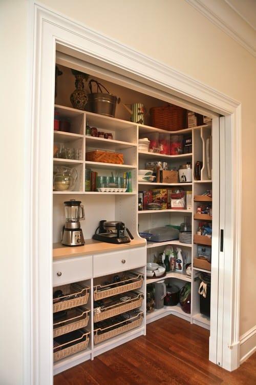 Wall kitchen pantry