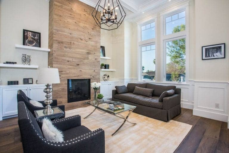 450 Examples of Living Rooms with Hardwood Flooring (Pictures)