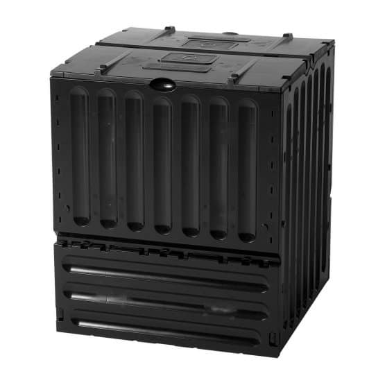 Large, box-type compost bin.