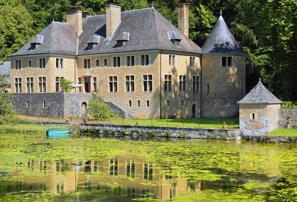 manor house of Lac Orval
