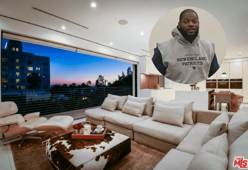 Martellus Bennett Hollywood Hills home is worth $3.2 million.