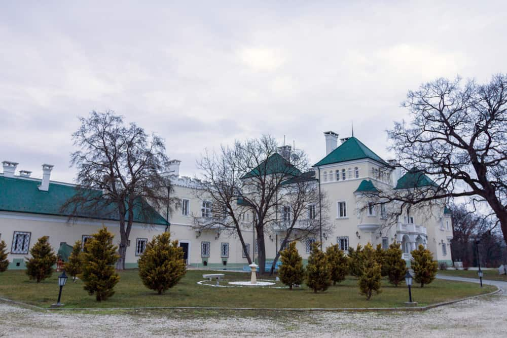 palace in Acsaujlak