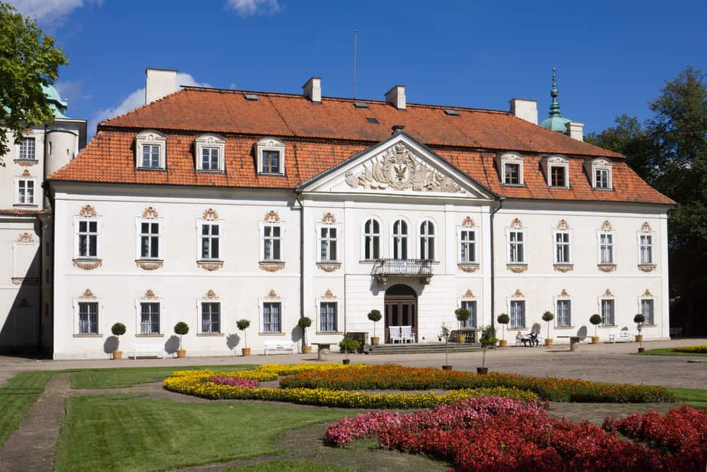 palace of Nieborow estate