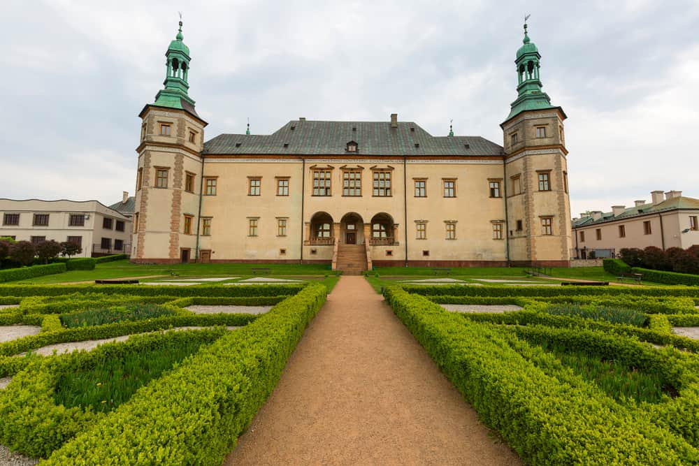 palace of the Krakow Bishops in Kielce