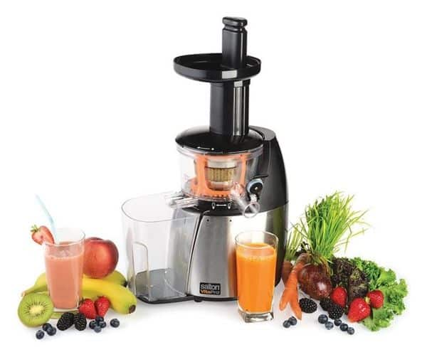 Juicer with recipes included.