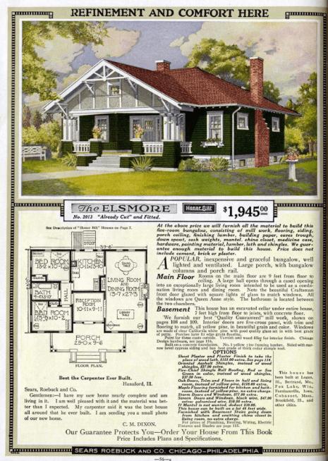 Sears catalog.