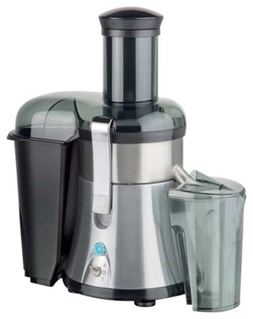 Juicer with speed control.