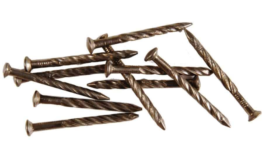 Spiral flooring nails,