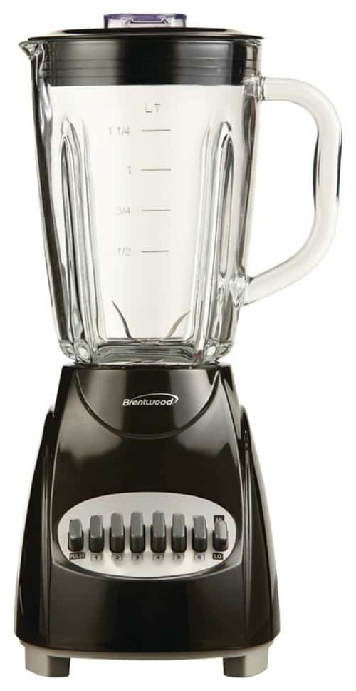 Variable speed control blender.