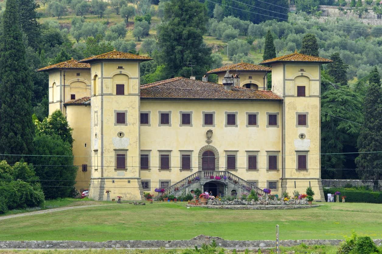 Ancient villa near Pistoia