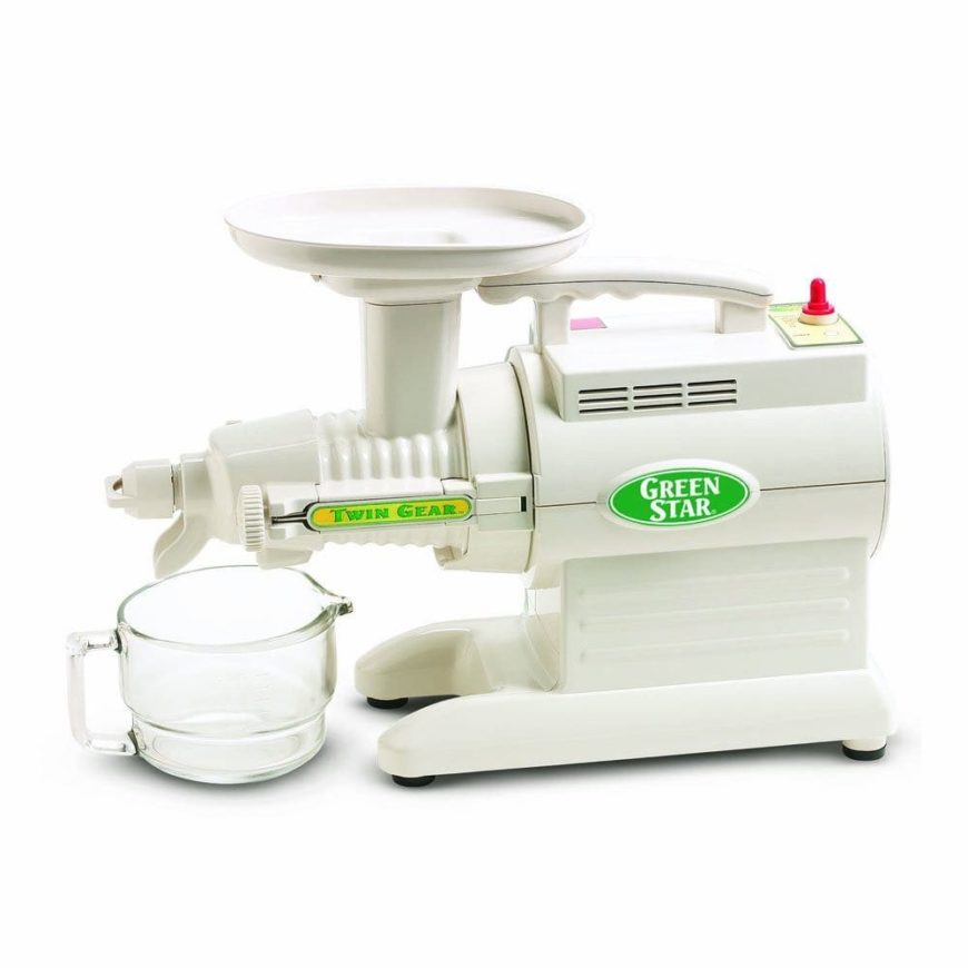 Juicer with warranty.