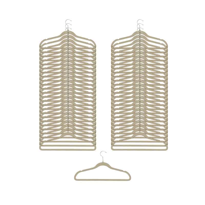 Pack of clothes hangers