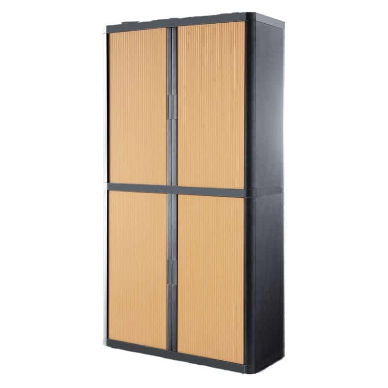 Locking office storage