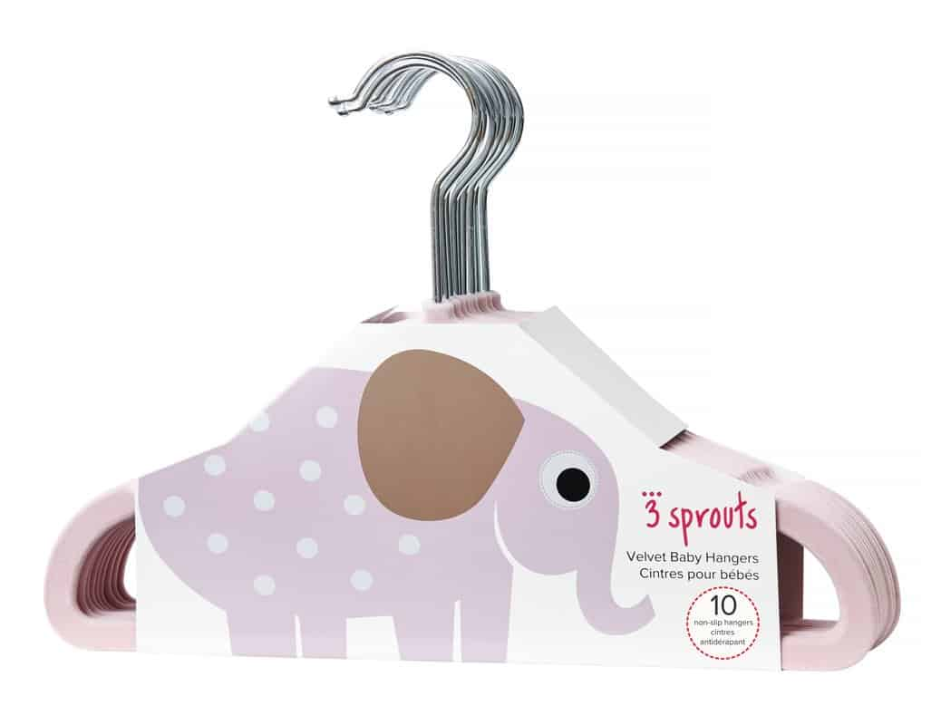 Clothes hanger for nursery