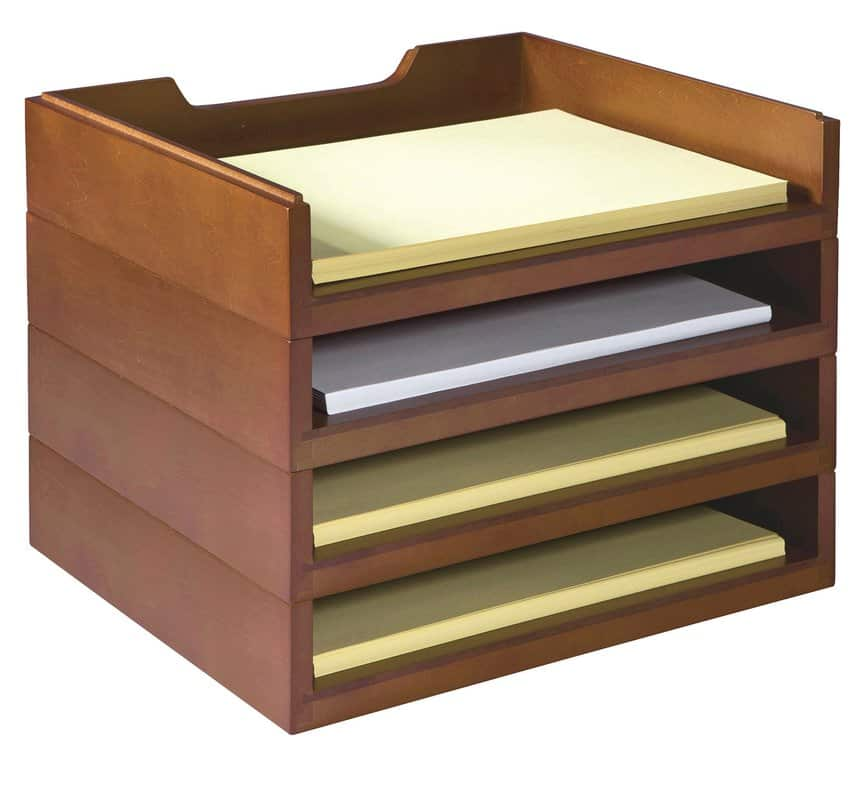 Paper organizer for office