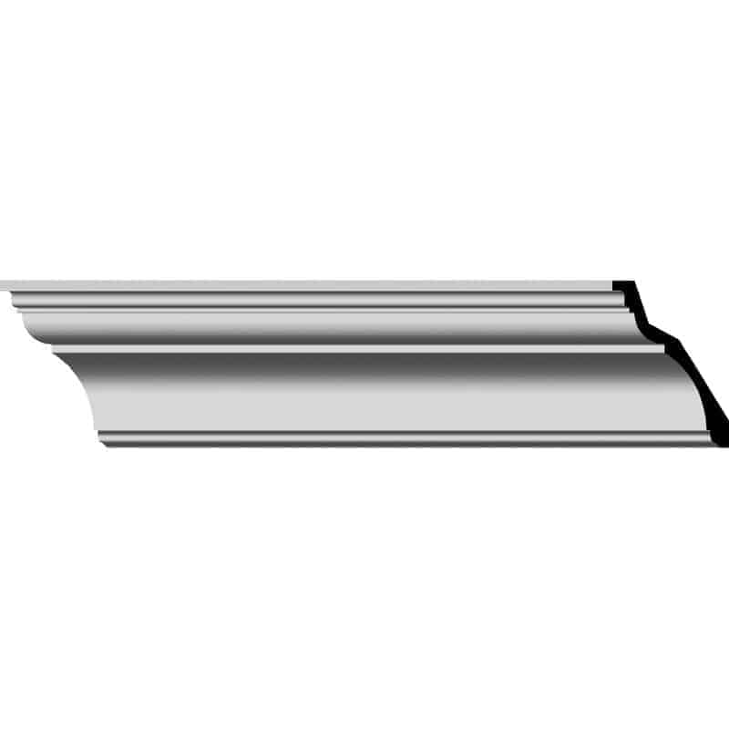 Wall crown molding