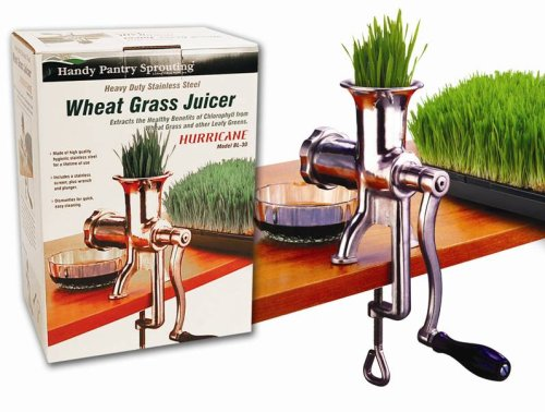 Wheat grass juicer.