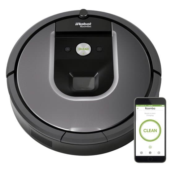 Wi-Fi enabled vacuum cleaner.
