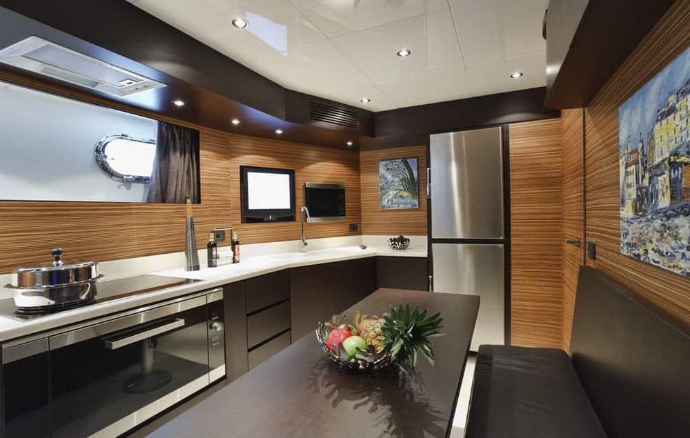 yacht kitchen interior design
