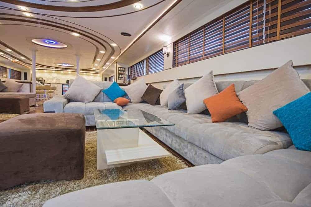 yacht living room