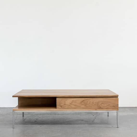Beautiful modern wood coffee table