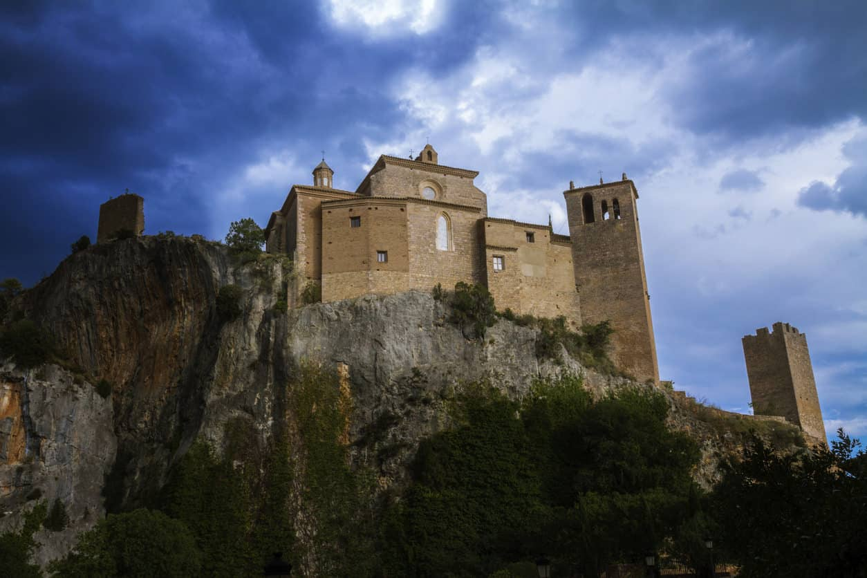 Alquezar knight's Castle