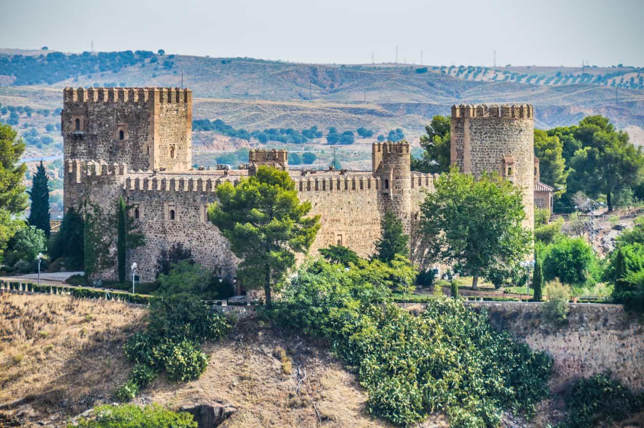 Castillo de San Servando in Toledo, Spain