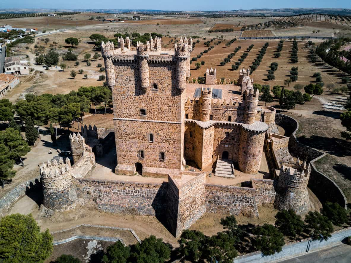 The medieval castle of Guadamur