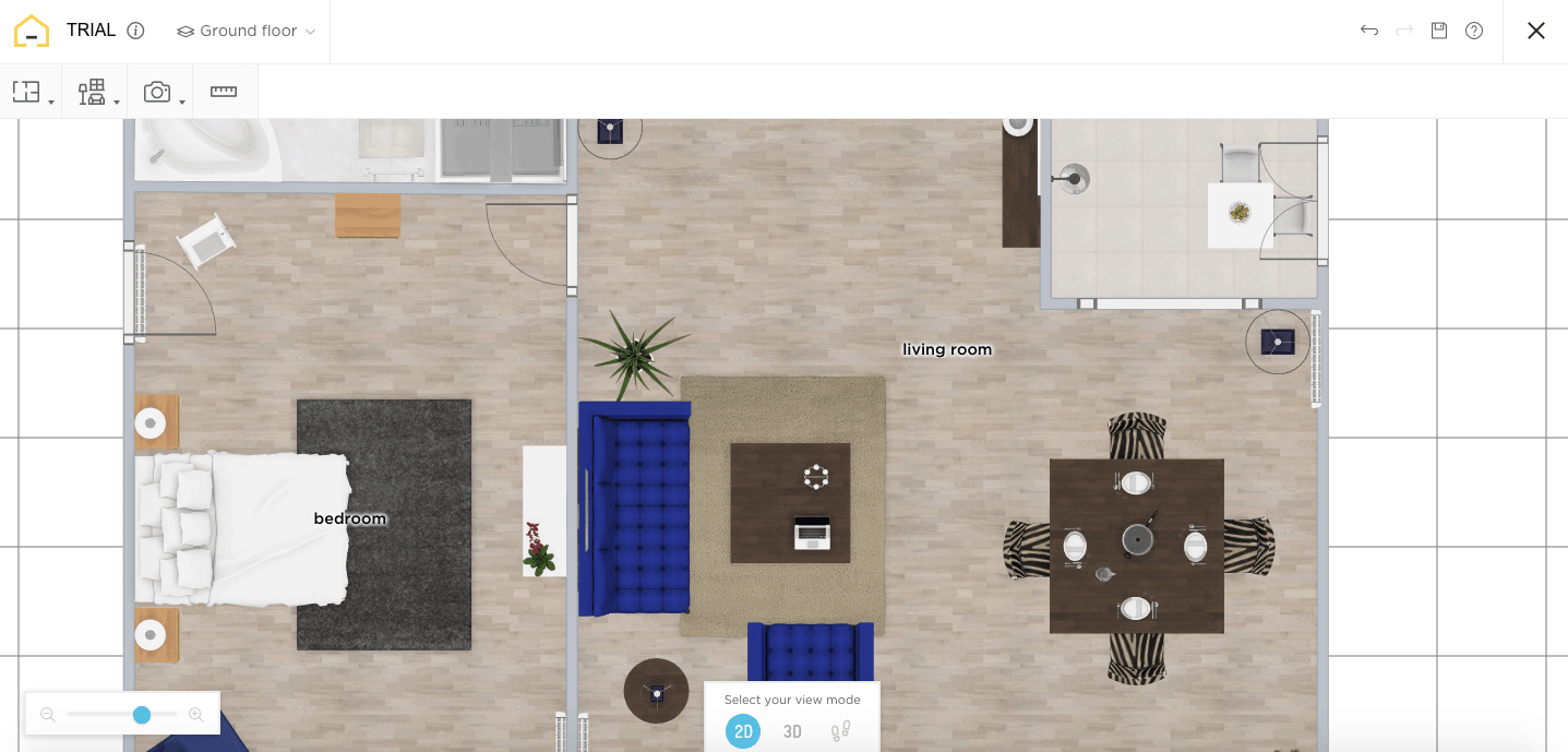 HomeByMe 2D View