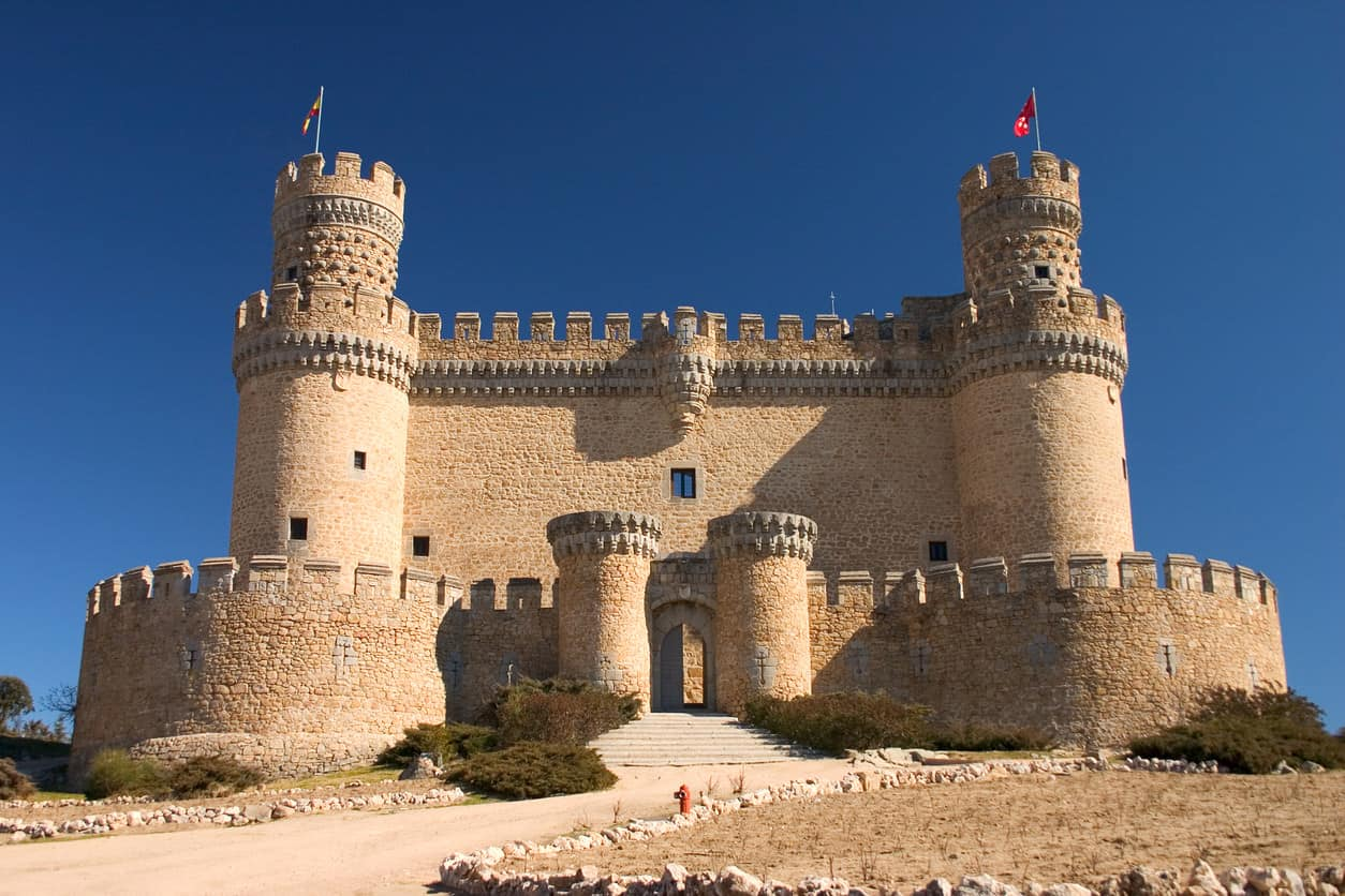 Manzanares's Castle in Madrid