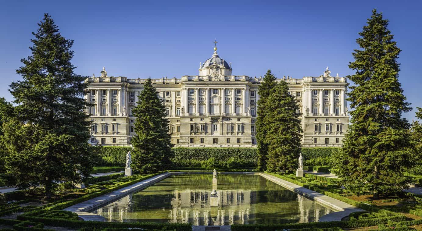 Madrid Sabatini Gardens Palacio Real