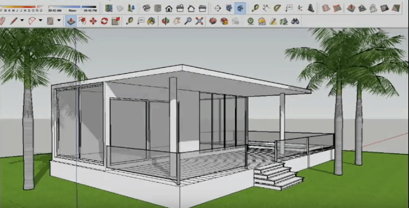 SketchUp Final Result
