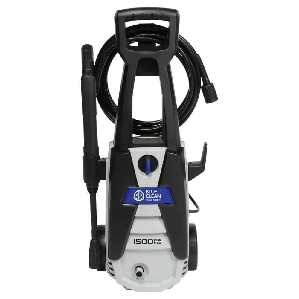 Black turbo pressure washer.