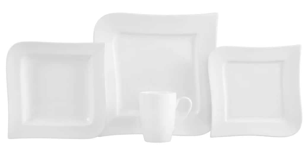 Fortaluxe super white brings the glaze integrity and chip resistance of porcelain together with the delicate designs found in the finest china for a table setting that will last for generations.