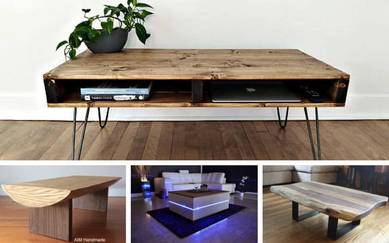 10 Terrific Etsy Coffee Tables My