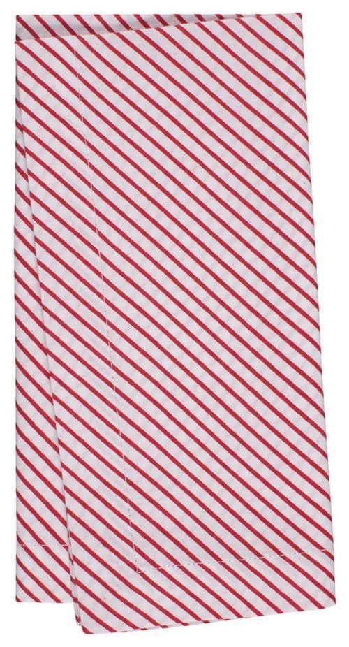Contemporary cotton napkins.