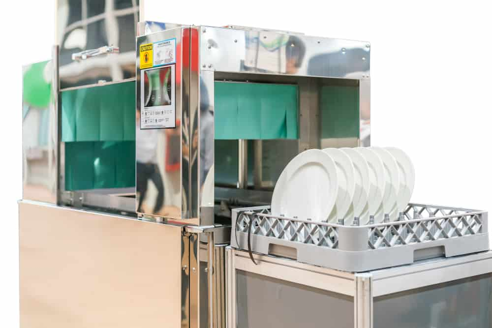 Automatic dishwasher for Industrial use.