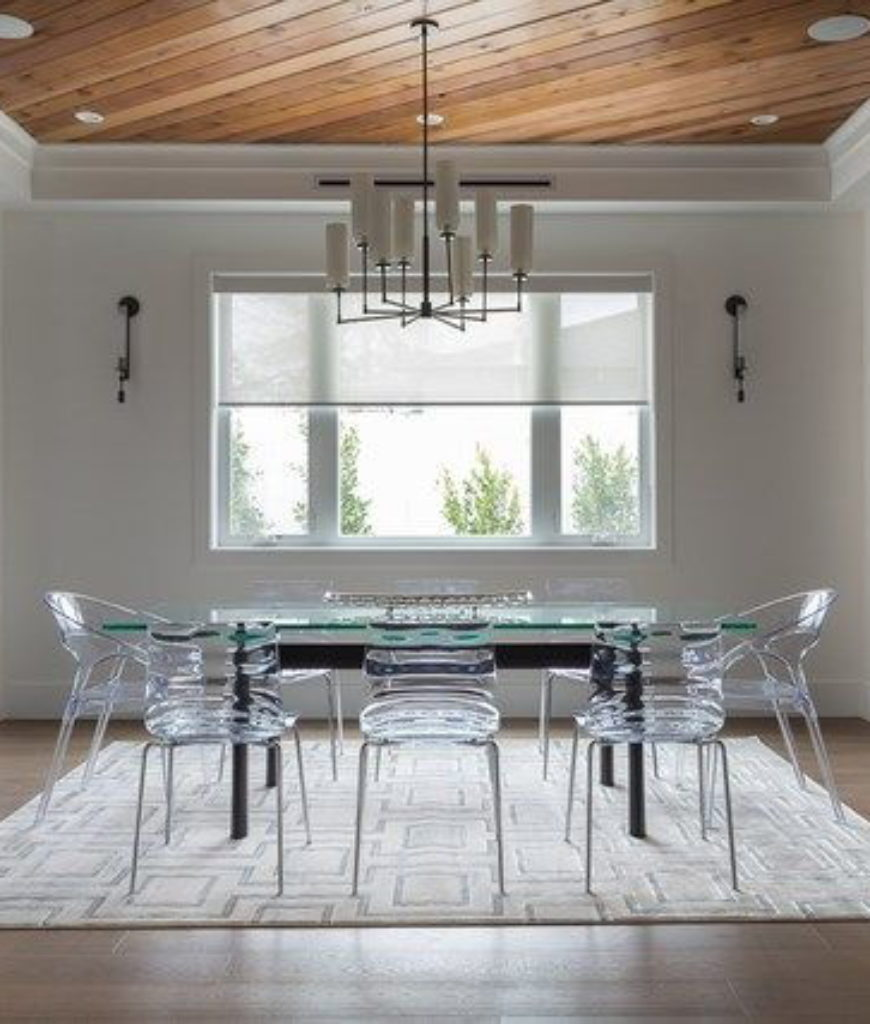 Birkenstock Sherman Oaks Home: 90 Stunning Dining Rooms With Chandeliers (PICTURES