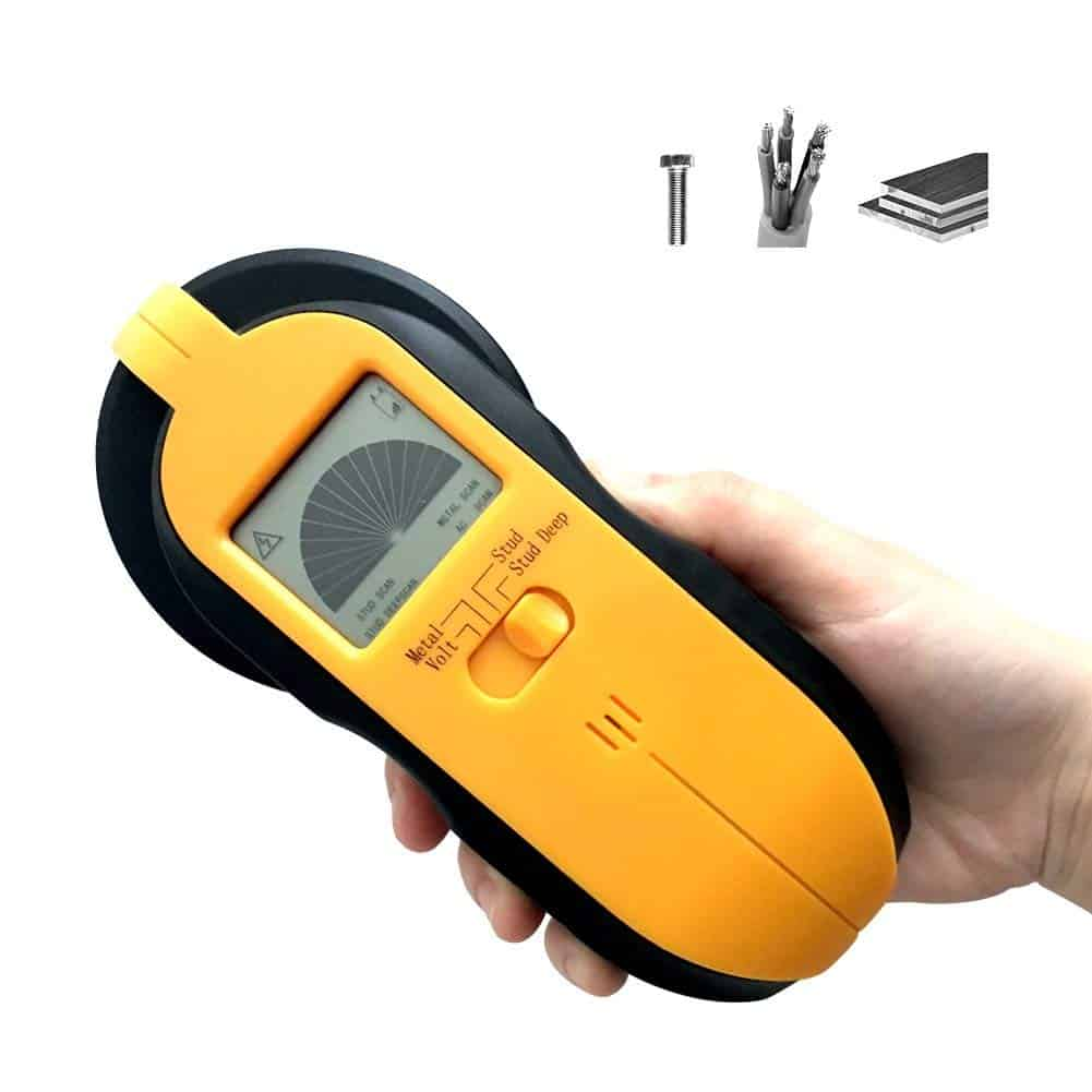 Stud finder, wireless wall stud sensor detector and wall scanner
