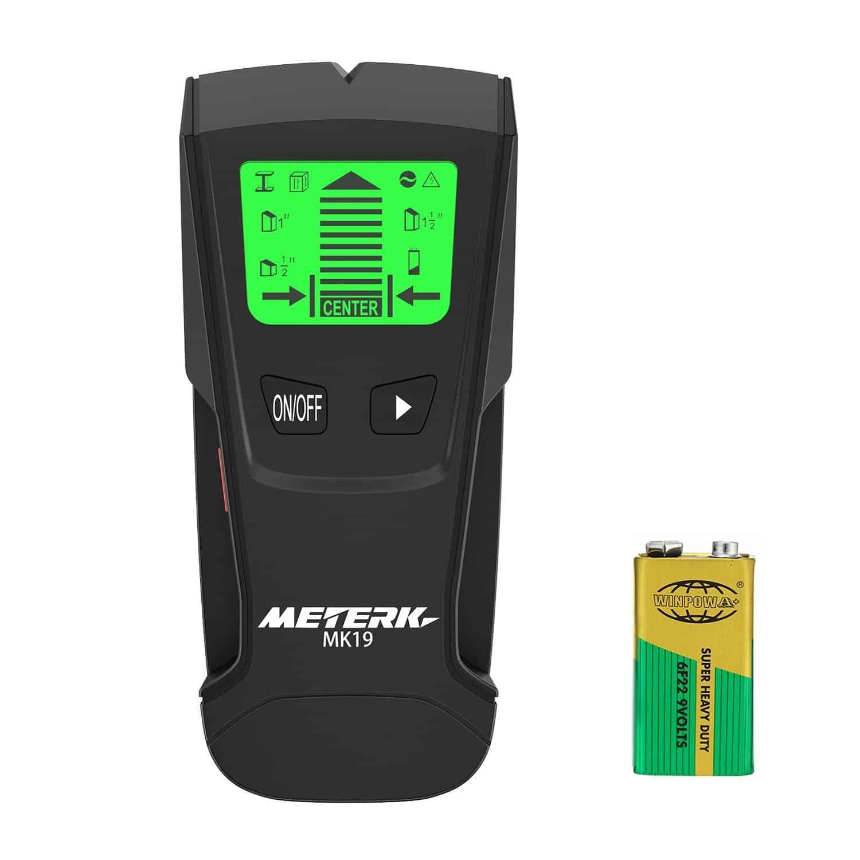 Meterk stud sensor with large LCD display.