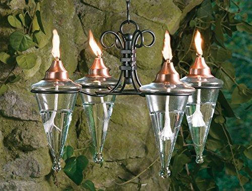Chandelier patio torch