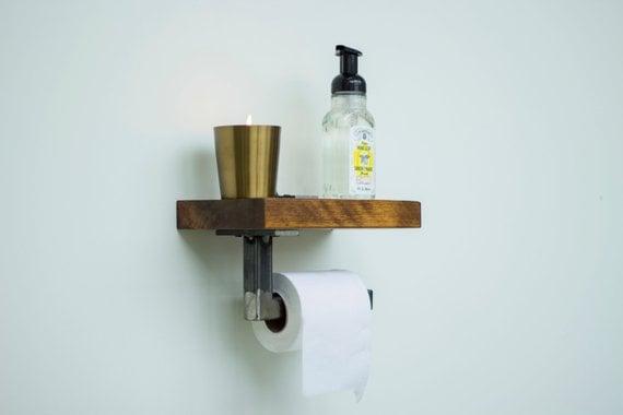 Residential toilet paper holder