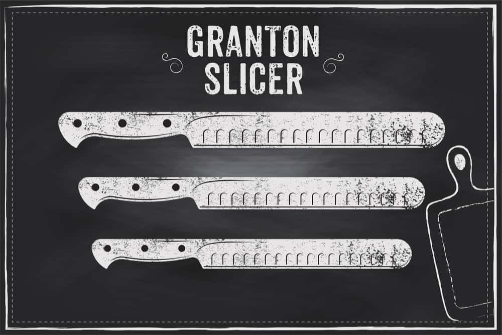 Granton edge knives