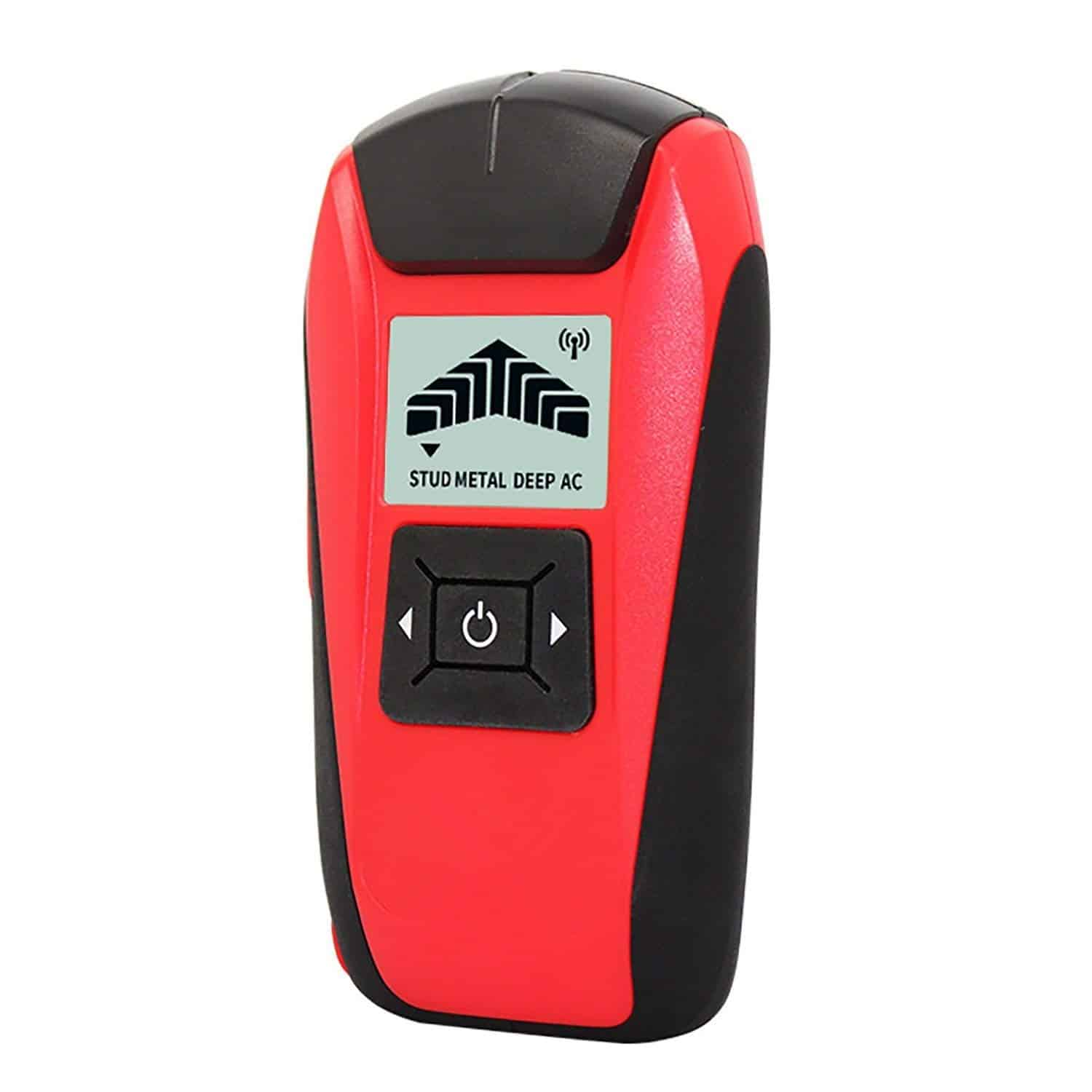 Aikotoo hands-free magnetic stud finder sensor with wall, wood and stud finder detector.